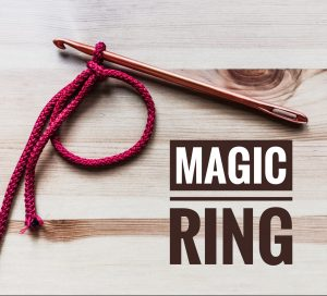 How to crochet magic ring