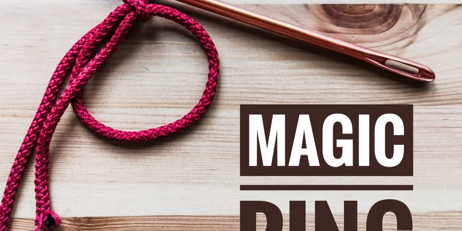 How to crochet magic ring