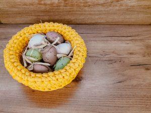 crochet easter basker