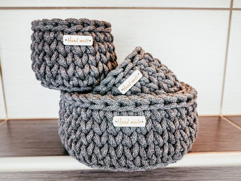 Crochet Round Basket Pattern