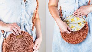 Crochet Round Bag