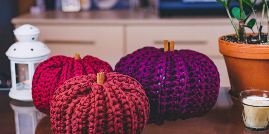 Crochet Fall Decorations