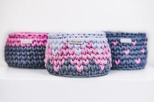 Crochet Nursery Basket