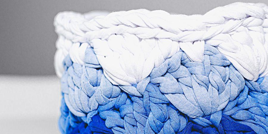 Crochet Summer Basket